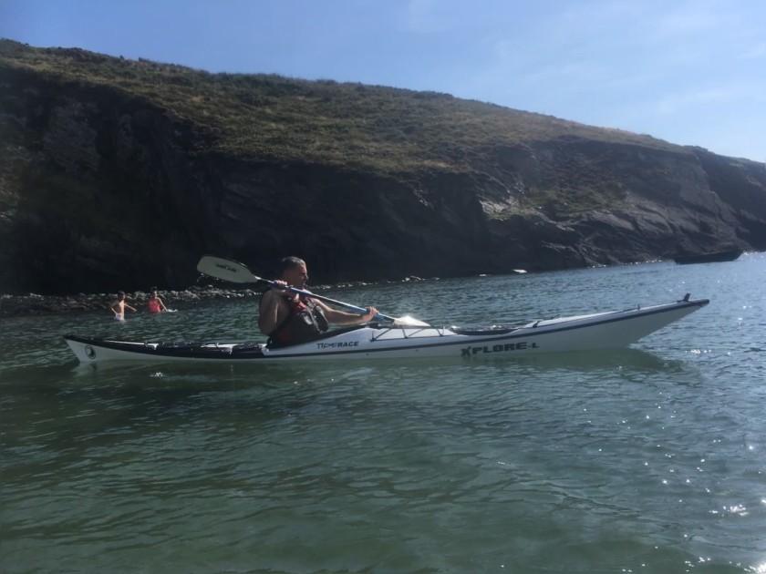 Sea Kayak off Solva
